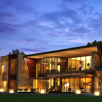 FARM HOUSE<br>Project Architects: Icon Studios, New Delhi